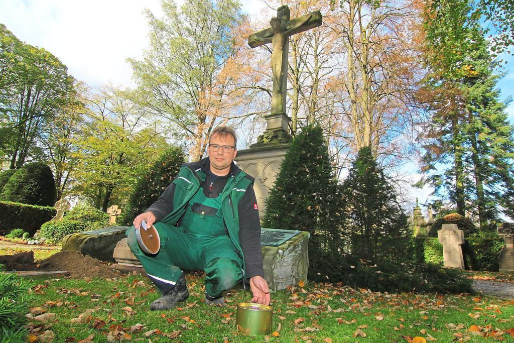 Berufsunfaehigkeit Friedhof