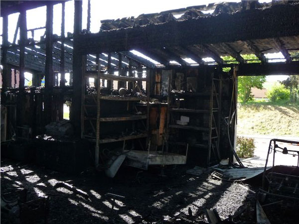 ProFinanz AG Feuerschaden Abwicklung